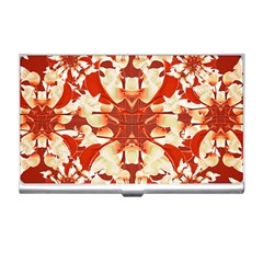Digital Decorative Ornament Artwork Business Card Holder