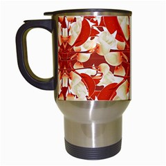 Digital Decorative Ornament Artwork Travel Mug (White)