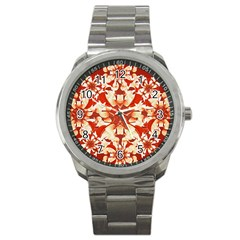 Digital Decorative Ornament Artwork Sport Metal Watch