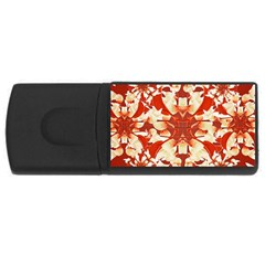 Digital Decorative Ornament Artwork 4GB USB Flash Drive (Rectangle)
