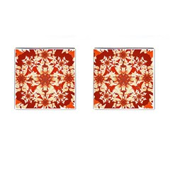 Digital Decorative Ornament Artwork Cufflinks (Square)