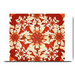 Digital Decorative Ornament Artwork Large Door Mat