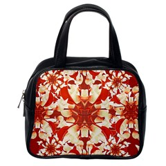 Digital Decorative Ornament Artwork Classic Handbag (One Side)