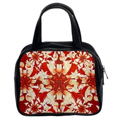 Digital Decorative Ornament Artwork Classic Handbag (Two Sides)