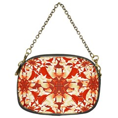 Digital Decorative Ornament Artwork Chain Purse (one Side)