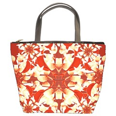 Digital Decorative Ornament Artwork Bucket Handbag