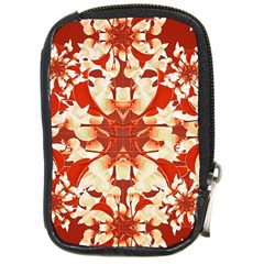 Digital Decorative Ornament Artwork Compact Camera Leather Case