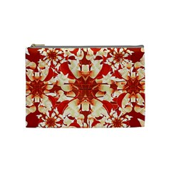 Digital Decorative Ornament Artwork Cosmetic Bag (Medium)