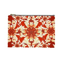Digital Decorative Ornament Artwork Cosmetic Bag (Large)