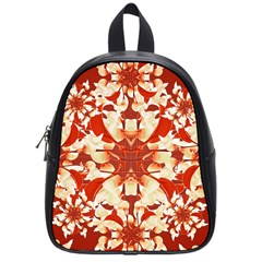Digital Decorative Ornament Artwork School Bag (Small)