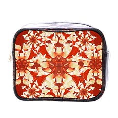 Digital Decorative Ornament Artwork Mini Travel Toiletry Bag (One Side)