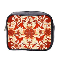 Digital Decorative Ornament Artwork Mini Travel Toiletry Bag (Two Sides)