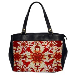 Digital Decorative Ornament Artwork Oversize Office Handbag (One Side)