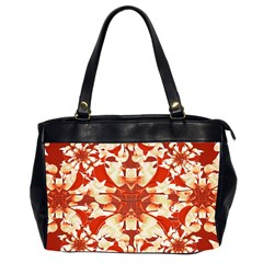 Digital Decorative Ornament Artwork Oversize Office Handbag (Two Sides)