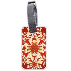 Digital Decorative Ornament Artwork Luggage Tag (Two Sides)
