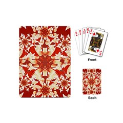 Digital Decorative Ornament Artwork Playing Cards (Mini)