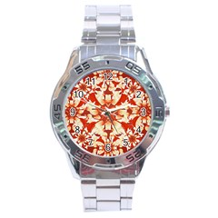 Digital Decorative Ornament Artwork Stainless Steel Watch