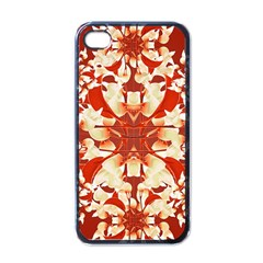 Digital Decorative Ornament Artwork Apple iPhone 4 Case (Black)