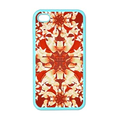 Digital Decorative Ornament Artwork Apple iPhone 4 Case (Color)