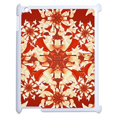Digital Decorative Ornament Artwork Apple iPad 2 Case (White)