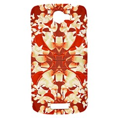 Digital Decorative Ornament Artwork HTC One S Hardshell Case