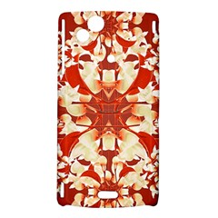 Digital Decorative Ornament Artwork Sony Xperia Arc Hardshell Case