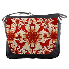 Digital Decorative Ornament Artwork Messenger Bag