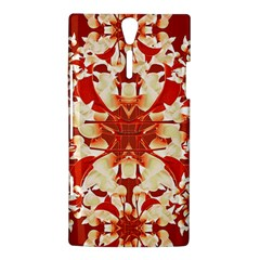 Digital Decorative Ornament Artwork Sony Xperia S Hardshell Case