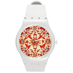 Digital Decorative Ornament Artwork Plastic Sport Watch (medium)