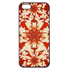 Digital Decorative Ornament Artwork Apple iPhone 5 Seamless Case (Black)