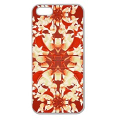 Digital Decorative Ornament Artwork Apple Seamless iPhone 5 Case (Clear)