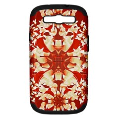 Digital Decorative Ornament Artwork Samsung Galaxy S III Hardshell Case (PC+Silicone)