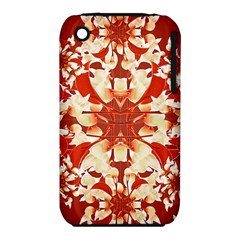 Digital Decorative Ornament Artwork Apple Iphone 3g/3gs Hardshell Case (pc+silicone)