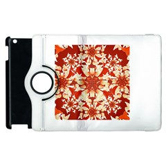Digital Decorative Ornament Artwork Apple iPad 2 Flip 360 Case