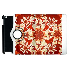 Digital Decorative Ornament Artwork Apple iPad 3/4 Flip 360 Case