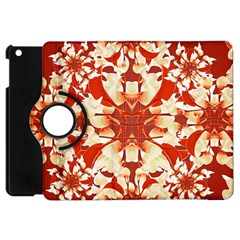 Digital Decorative Ornament Artwork Apple iPad Mini Flip 360 Case