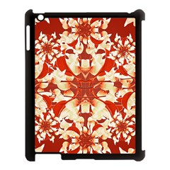 Digital Decorative Ornament Artwork Apple iPad 3/4 Case (Black)