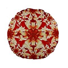 Digital Decorative Ornament Artwork 15  Premium Round Cushion