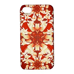 Digital Decorative Ornament Artwork Apple Iphone 4/4s Hardshell Case With Stand