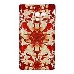 Digital Decorative Ornament Artwork Sony Xperia ZL (L35H) Hardshell Case