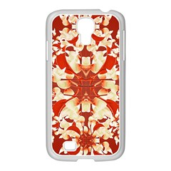 Digital Decorative Ornament Artwork Samsung GALAXY S4 I9500/ I9505 Case (White)