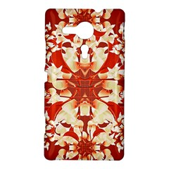 Digital Decorative Ornament Artwork Sony Xperia SP M35H Hardshell Case