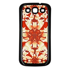 Digital Decorative Ornament Artwork Samsung Galaxy S3 Back Case (Black)