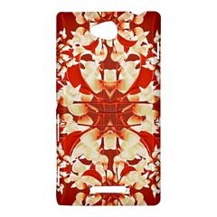 Digital Decorative Ornament Artwork Sony Xperia C (S39H) Hardshell Case
