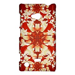 Digital Decorative Ornament Artwork Nokia Lumia 720 Hardshell Case