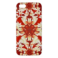 Digital Decorative Ornament Artwork iPhone 5S Premium Hardshell Case