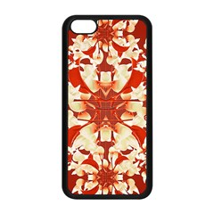 Digital Decorative Ornament Artwork Apple Iphone 5c Seamless Case (black)