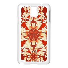 Digital Decorative Ornament Artwork Samsung Galaxy Note 3 N9005 Case (white)