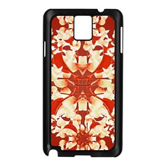 Digital Decorative Ornament Artwork Samsung Galaxy Note 3 N9005 Case (Black)