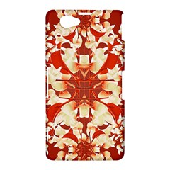 Digital Decorative Ornament Artwork Sony Xperia Z1 Compact Hardshell Case
